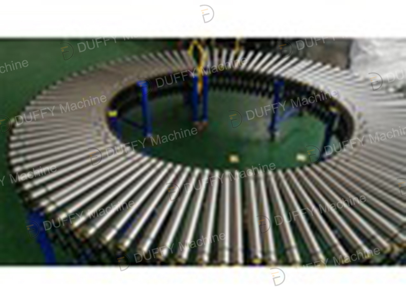 Multi-wedge belt power telescopic roller conveyor